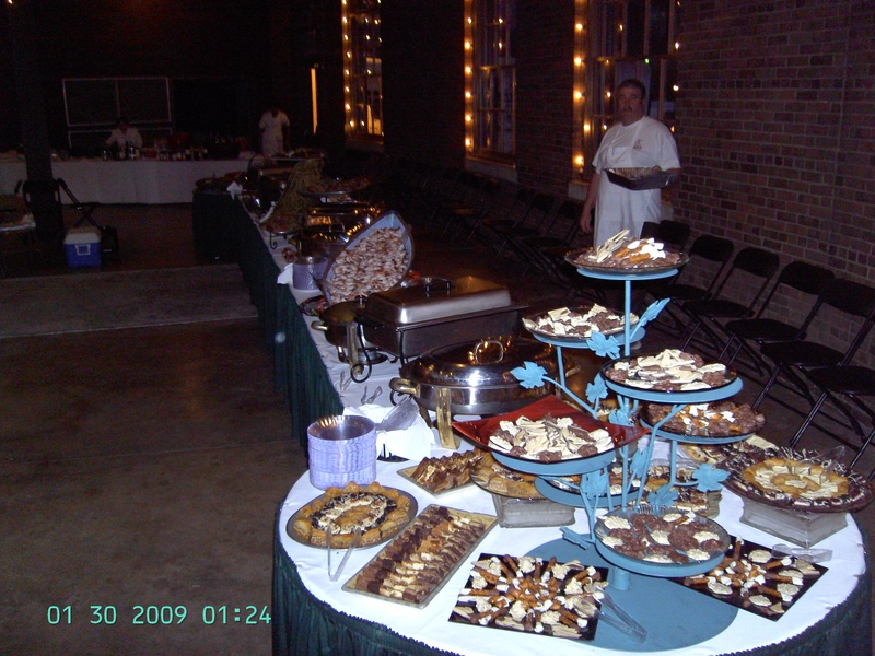 Assorted mini desserts