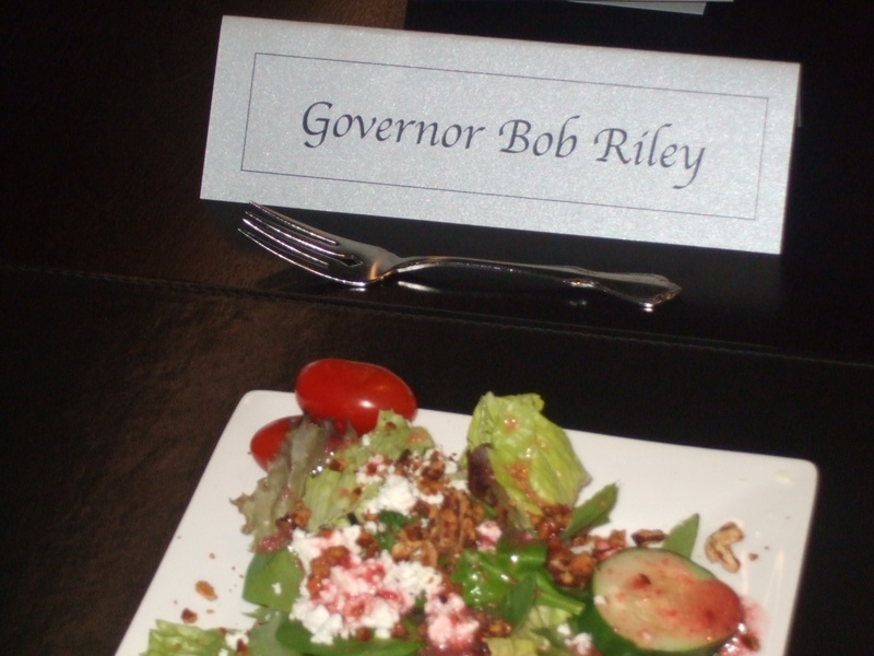 Dinner for Gov Riley